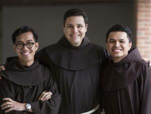 student friars, abel, christian,javier